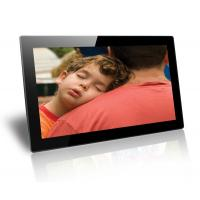 Buy cheap Black 18.5 Inch Baby / Friends Wall Mounted Digital Photo Frame Supports SD / MMC Cards from Wholesalers