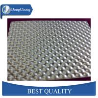China Emboss Pattern Alloy Aluminium Chequer Plate Sheet 5mm Thickness Mill Finish Surface factory