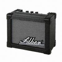 China 3W Mini Guitar Amplifier with 4-inch Speaker and 9V AC/DC Adapter Power Supply on sale