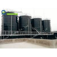China Glass Lined Steel Industrial Water Tanks 30000 Gallon Acid Snd Alkali Resistance on sale