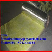 Buy cheap 16Kg/m3X38mm Fiber glass wool blanket for duct insulation from Wholesalers