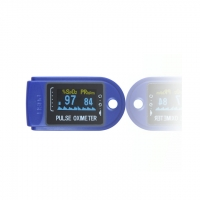 China 4 Colors Clinical Simulator TFT Fingertip Oxygen Oximeter factory