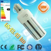 Buy cheap 175W metal halide canopy led replacement bulb light E40 E27 50W LED Corn Cob light from Wholesalers
