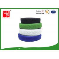 Buy cheap Two sided hook and loop sew on hook and loop tape various color 25m / roll from Wholesalers