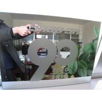 China Sinoy Finished Processed Mirror Glass Sandblasting With Acid Etched Patterns factory