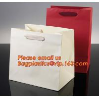 China Luxury shopping paper bag, different types design custom paper shopping bag factory