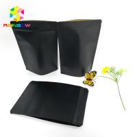 Buy cheap Black Kraft Paper Printing Customized Paper Bags Food Grade Laminated Self Stand from wholesalers
