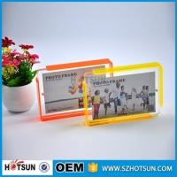 China Custom design 4*6cm Cute acrylic photo frame / cheap picture frames in bulk factory