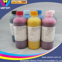 China 6 color pigment ink for HP5000 HP5500 inkjet printer pigment ink factory