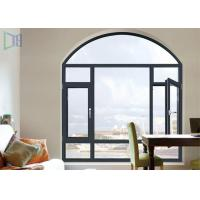 Buy cheap A Rated Storm Impact Arched Aluminium Windows , Soundproof Aluminium Curved Windows from Wholesalers