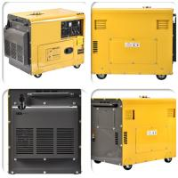 Quality Single Phase Portable Gasoline Generator Silent 3kVA 5kva 3000rpm Air Cooled for sale
