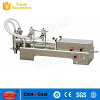 China High Quality And Hot Sales Double Heads Piston Liquid Filling Machine factory