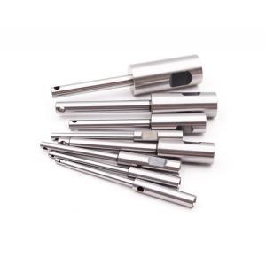 China Steel Q235 Knurling Shaft Cnc Machining Parts Sandblasting factory