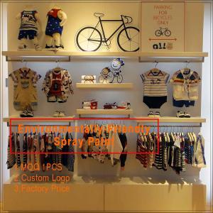 China High End baby shop garment display rack / kids shoes display rack/  cheap glass display ca on sale