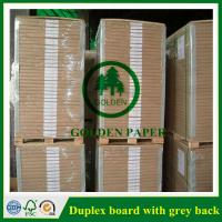 Quality 180gsm-450gsm Duplex board with grey back and white back in roll and sheet wholesale