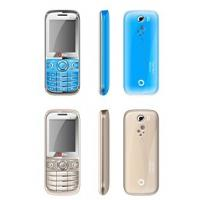 Buy cheap ecomonical low cost dual sim cell phone with sealed speaker and quad band frequency from Wholesalers