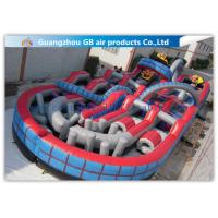 China Giant Inflatable Amusement Park With Large Roller Coaster for Activities Entertainment factory