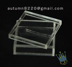 BO (105) acrylic counter top display cases