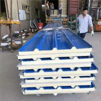 China heat insulation 960 type PU sandwich roof panel for pharmaceutical clean room factory