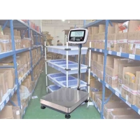 China Extra-Large LCD Display Electronic Bench Scale,Steel Structure Weighing Scale factory