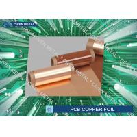 Buy cheap 51'' x 39'' Dimension Heavy Electrolytic Copper Foil Rolls / pcb copper foil from wholesalers