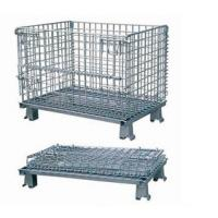 Stainless steel storage wire mesh container for pet preform industry