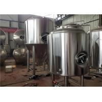 China 500L Bright Beer Serving Tank Stainless Steel Sanitary Industrial Beer Brewing Equipment factory