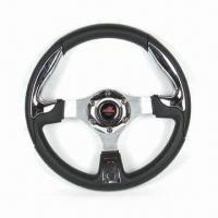 China Car Steering Wheel with Adjustable Height, Available in Various Colors factory