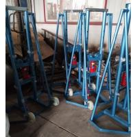 Buy cheap Spindle Bar Hydraulic High Lift Jack Stands 10T For Carrying Cable Reel from wholesalers