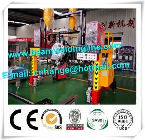 China H Beam Horizontal Welding Machine Mechanical Type Tracking Method Gantry Type Trailer factory
