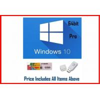 Quality Microsoft Windows Software Win 10 Pro OEM 64 Bit OEM Key with DVD wholesale