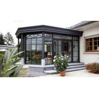 China Small Winter Garden Aluminum Sun Room Outdoor Glass House Modern Design factory