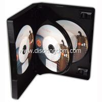 Buy cheap 14mm 6 disc DVD case soft PP CD case,plastic CD box with tray from Wholesalers