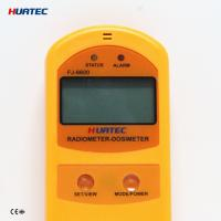 Buy cheap Radiation Monitoring Devices X- ray , γ ray , Soft and hard β radiometer dosimeter FJ-6600 soil surface radiation from Wholesalers