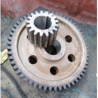 China 42CrMo Steel 45 Steel Spur Gear Wheel Pinion Gears For Ball Mill factory