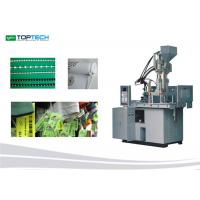 Minimal Footprint  30 Ton Vertical Plastic Injection Machine Hydraulic Moulding Machine