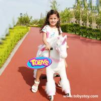 Quality Tobys plush riding horse wholesale
