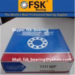 Buy cheap Air Compressor Bearings  Bearings 7311 BEP Angular Contact Ball Bearings from Wholesalers