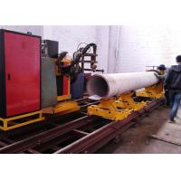 Buy cheap with CE ISO ceterficate flame and plasma cutting mode CNC metal pipe cutting machine from Wholesalers