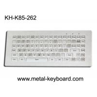 Quality Water resistant stainless steel Industrial Metal Keyboard without mouse , 85 keys wholesale