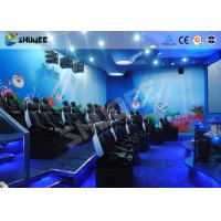 China 9 Seats 5D Cinema System Equipment Motion Chair With Many Special Effects factory