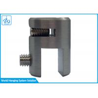 China Acrylic Clamps Sleeve Fit Glass Clamp Bracket Display Rack Mounting Accessories factory