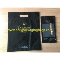 Buy cheap Black Oversized Cigar Humidor Bags Resealable Ziplock To Open And Close from Wholesalers