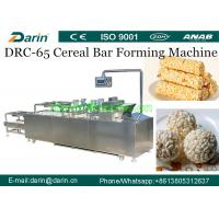 China Crispy Puffed Snack Roasted Barley Cereal Bar Forming Machine SUS304 Material on sale