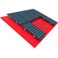 Buy cheap 10kw Solar Panel Roof Mounting Systems Pitched Corrugated Trapezoidal Standing Seam PV Structure from Wholesalers