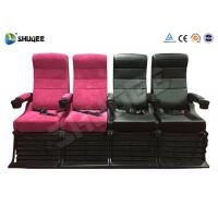 China Electric 4D Movie Theater Motion Chair With Special Effect System 1 Year Warranty factory