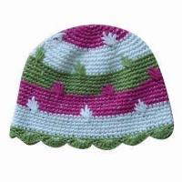 China Women's Spring Flower Hat, OEM Orders are Welcome factory