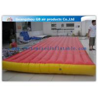 China Red Interactive Inflatable Sports Games Air Mattress For Gym Bungee Jumping factory