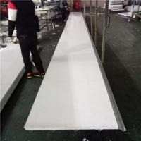 China 0.5mm PVC EPS sandwich waterproof roof panel for fast assemble buildings factory