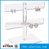 China Wholesale Cheap Cool Style Fashion Acrylic Jewelry Display, Acrylic Earring Display factory